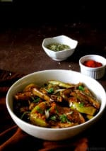 Bom Chount Recipe, Kashmiri Baigan Seb Ki Sabzi