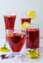 How To Make Hibiscus Tea, Agua De Jamaica Recipe