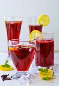 How To Make Hibiscus Tea, Agua De Jamaica