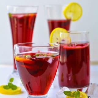 Hibiscour -drink