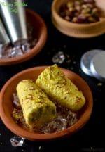 Malai Kulfi Recipe, How To Make Kesar Pista Malai Kulfi