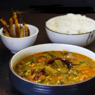 OKRA CURRY PULUSU