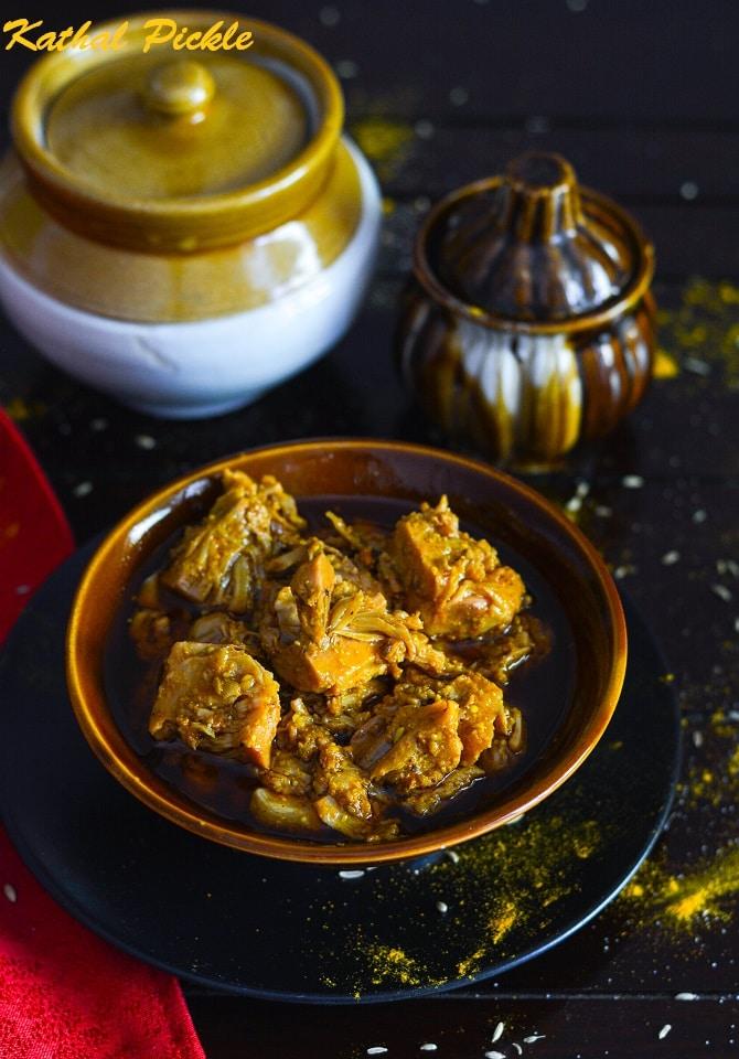 Kathal Ka Achar Recipe, How To Make Jackfruit Pickle » Maayeka