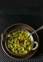 Turai Mooli ki Sabzi / Sponge Gourd and Radish Curry
