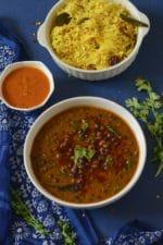 Kala Vatana Amti Recipe ,Black Pea Curry