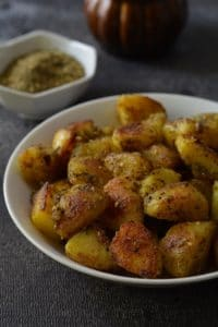 poatatoes roasted with zaatar