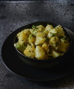 Bengali Aloo Chorchori Recipe