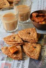 How To Make Namkeen Khaja / Trikoni Mathri