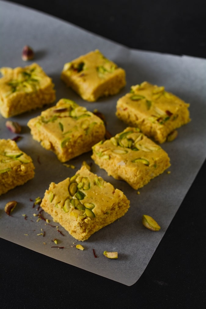 milk powder barfi