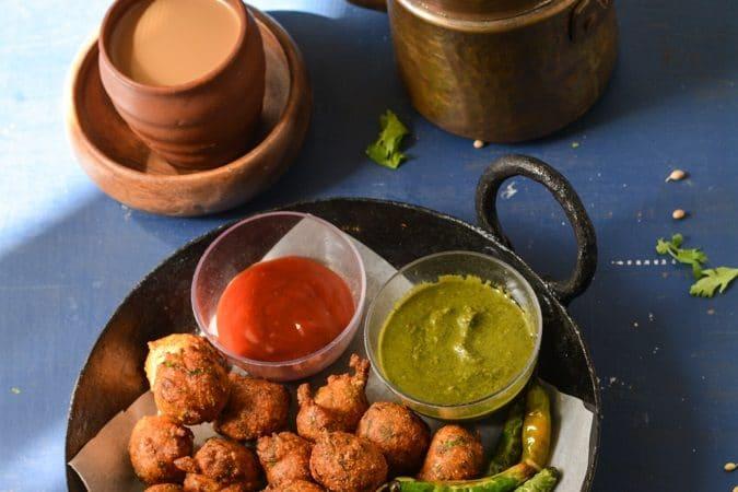 methi na bhajiya pakoda