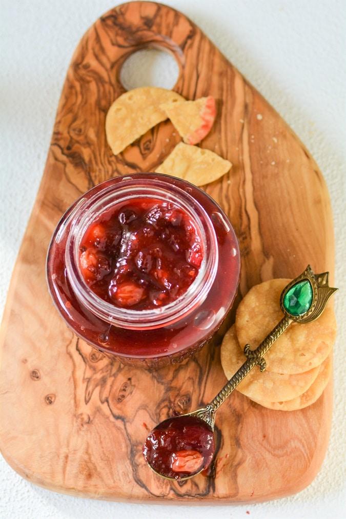 plum chutney relish