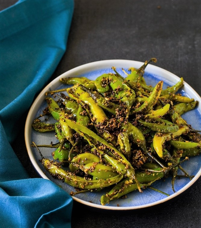 green chili fry