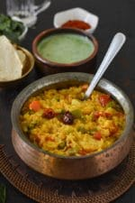 Gujarati Vaghareli Khichdi Recipe, Vegetable Khichdi
