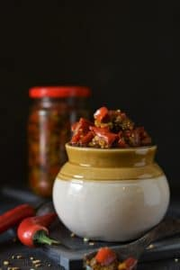 Laal Mirch Ka Achar / Red Chili Pickle Recipe