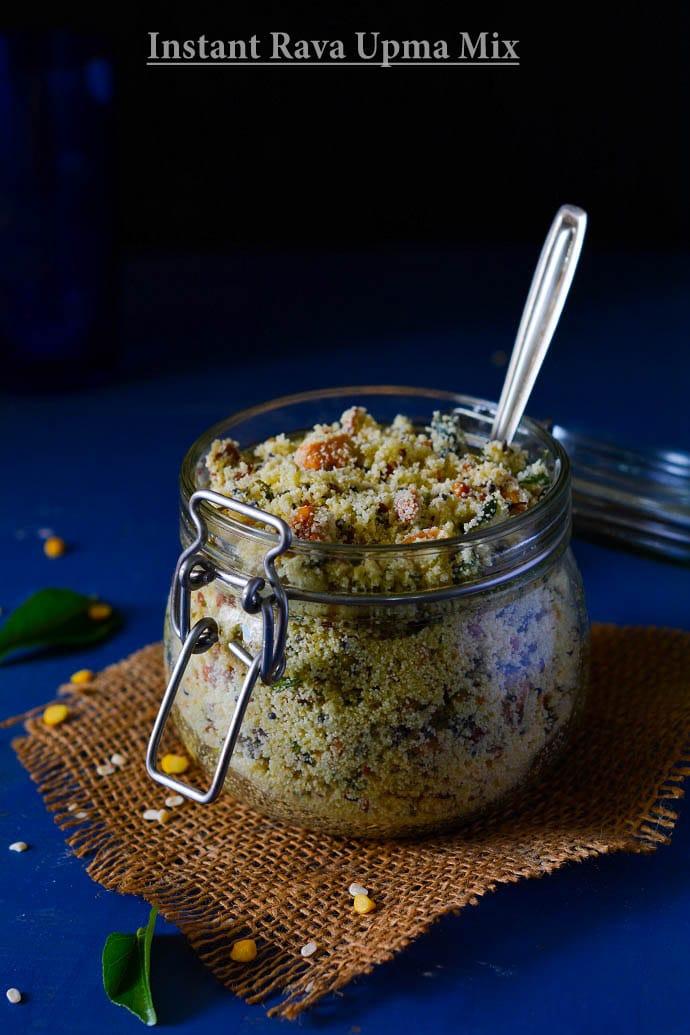 instant rava upma ready to eat