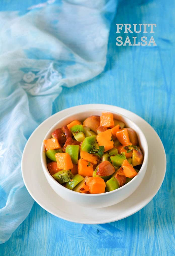 Fresh Fruit Salsa Recipe » Maayeka