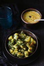 Aloo Suva ki Sabzi Recipe, Dill leaves and Potato stir fry