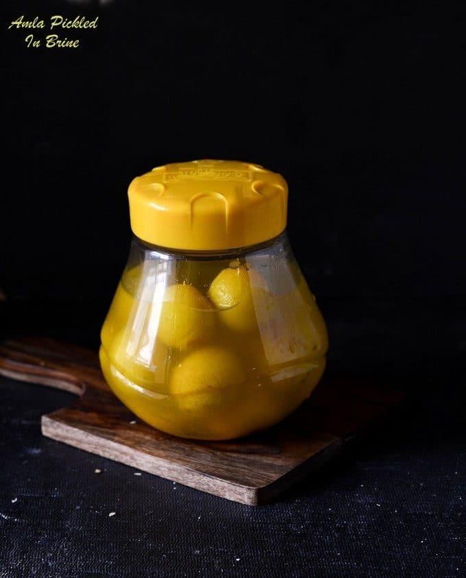 amla pickled in brine
