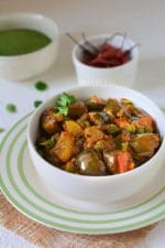 Mooli Baigan ki Sabzi, How To Make Mooli Baigan Sabzi