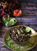 Sookhe Kala Chana Recipe, Kale Chane For Ashtami Prashad