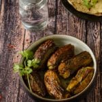 Stuffed banana sabzi