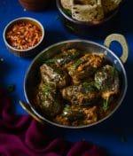 Masala Baigan- Pressure Cooker Recipe