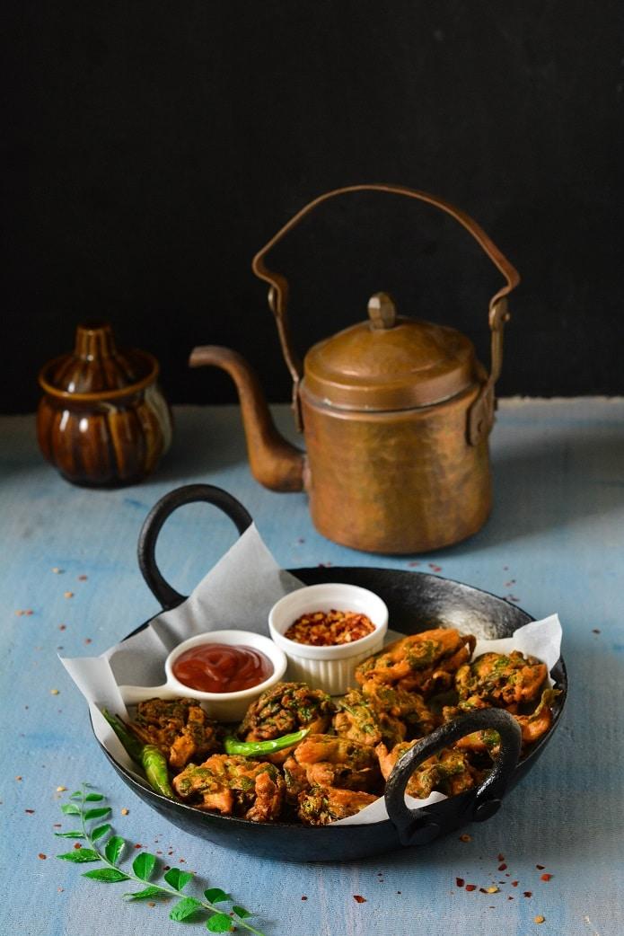 palak bhajiya