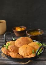 Bedmi Poori,How To make Bedmi Poori