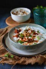 Kashmiri Mooli Raita Recipe, Radish Raita,