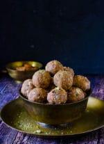 Gond ke Ladoo, Panjiri Ladoo, Punjabi Pinni Recipe