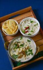 Rajgiri Aloo ki Kadhi aur Sama ke Chawal- Fasting Recipe For Navaratri