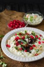 Curd Rice Recipe +Video Recipe, How To Make Curd Rice, Thayir Sadam
