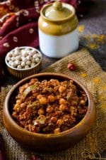 Gujarati Chana Methi Keri Pickle Recipe, How To Make Chana Methi Athanu