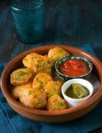 Aloo Pakoda Recipe, Aloo Bajji, Potato Pakoda