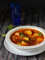 Arbi Ki Tari Wali Sabzi Recipe, How To Make Ras Wali Arbi