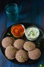Instant Ragi Idli Recipe, How To Make Ragi Idli