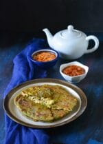 Palak Paneer Paratha Recipe, How To make Palak Paneer Paratha