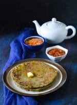 Palak Paneer Paratha Recipe | How To make Palak Paneer Paratha