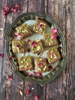 Walnut Barfi Recipe | How To Make Akhrot ki Barfi
