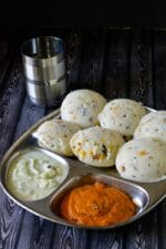 Kanchipuram Idli Recipe, How To Make Kanchipuram Idli, Kovil Idli