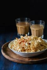 Sun dried Batatyacha Kees Recipe,How To Make Potato Salli , Potato Sev