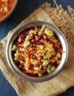 Kosambari Recipe, Koshambari Salad Recipe, Moong Daal Kosambari