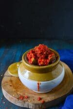 Avakkai Pickle Recipe, How To Make Andhra Style Avakaya Mango Pickle