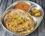 Easy Aloo Methi Paratha Recipe +Video