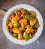 How To Make Shimla Mirch Aloo Ki Sabji | Capsicum Potato Curry Recipe +Video